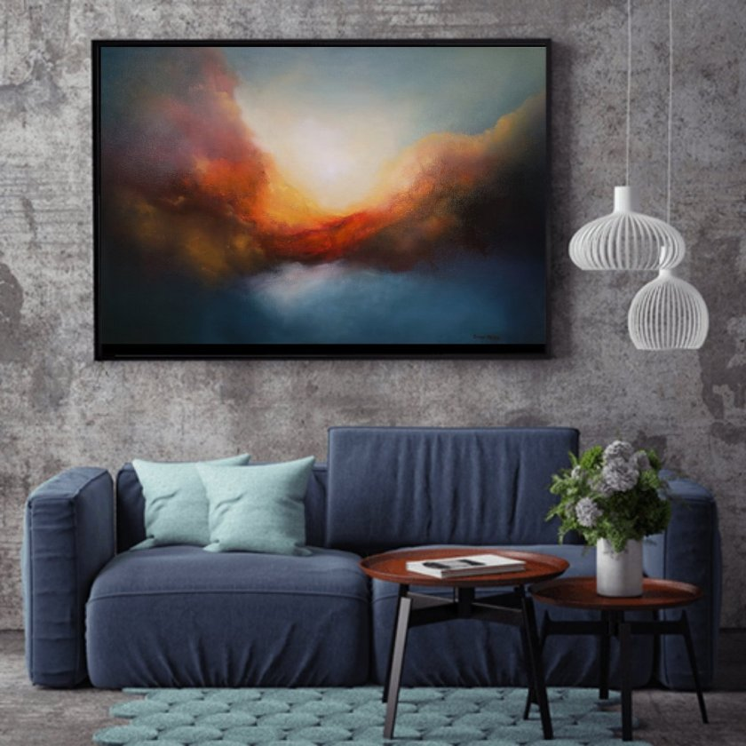 Limited Edition Print Emerging Worlds Abstract