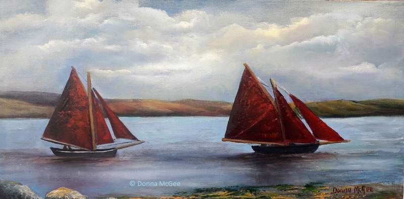 Sailing-Day-10-x-20-inches-Web-oil-on-board