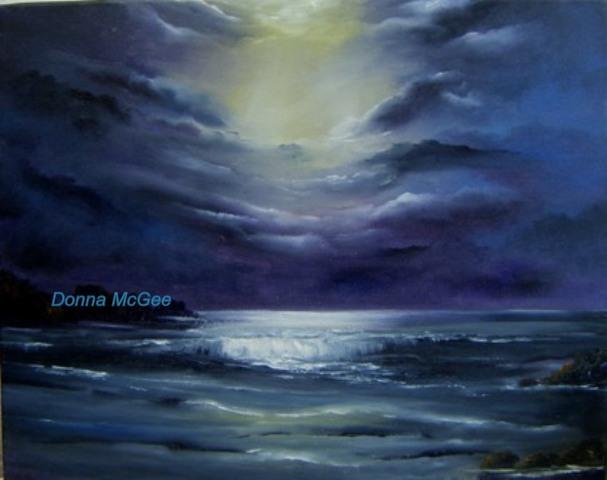 Heavens gate award winning painting