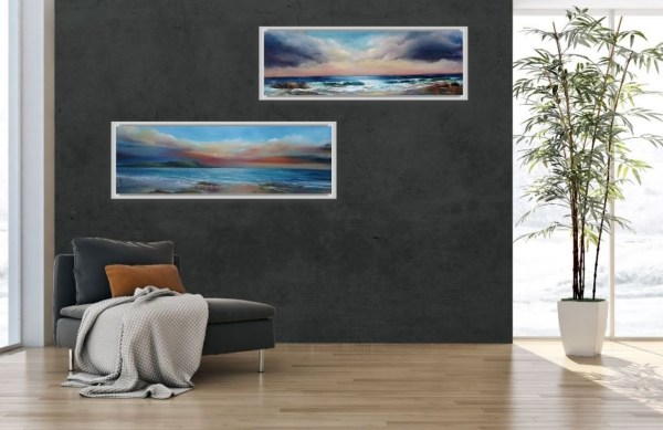 Achill Island Limited Edition Paintings in room setting