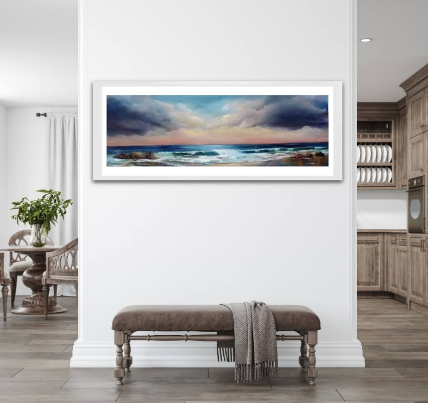 Sea to shore limited edition giclee print