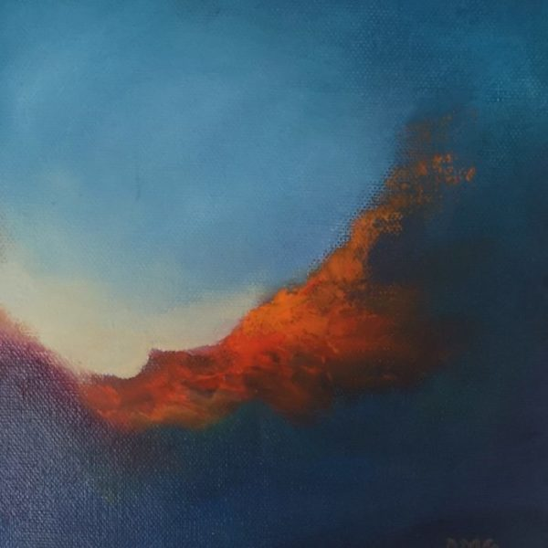 Into the ether series of abstract paintings - Dawn Awakes