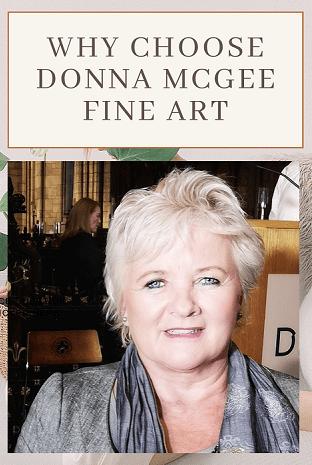 why choose Donna McGee Fine Art - testimonial