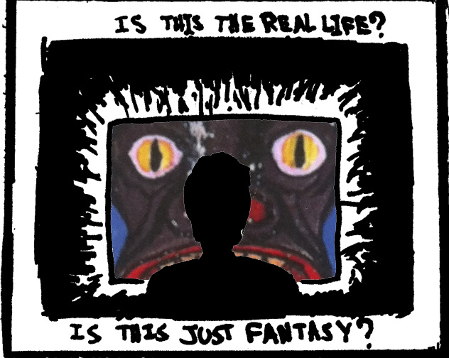 Is This the Real Life? by Paul Miele-Herndon and Carl Gustav Jung