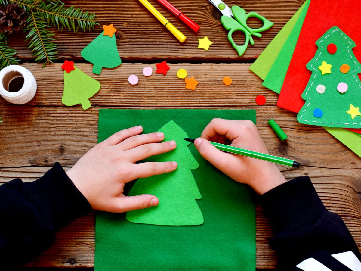 Oltre a lavoretti e ornamenti sono presenti anche biglietti e. Lavoretti Di Natale Da Realizzare Con I Bambini Donna Moderna