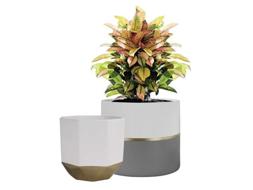 Traboccanti di fiori profumati, abbinati a un solo bocciolo, o da soli, come sculture, i vasi sono ormai imprescindibili complementi di design per l'arredo. Vasi Per Piante Da Interno Di Design Tendenze 2020 Donna Moderna
