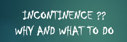 odor of incontinence