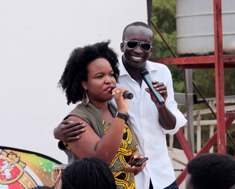 Arthouse Rwanda - Beats and Poetry - The Office - Impact Hub Kigali - Daniel Omara - Donnalee Donaldson