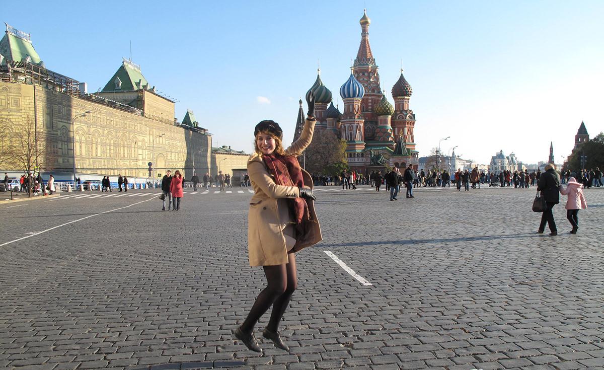 Valentina: La mia vacanza in Collant a Mosca