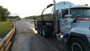 Tack Distribution Truck