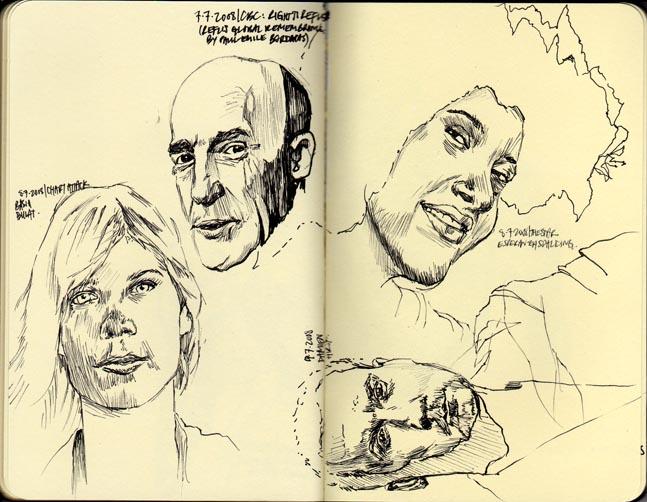 random portraits