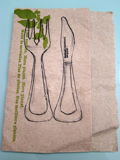 doodlers anonymous - napkin