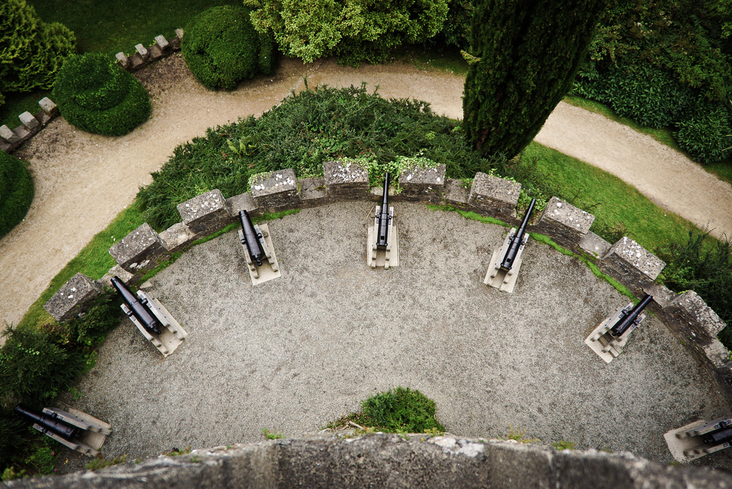 cannons of powerscourt