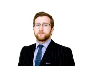 Photo of Kevin Donoghue, a solicitor who has used a coronavirus risk assessment to help his team return to office work.