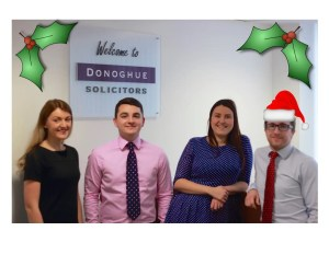 Merry Christmas from Donoghue Solicitors!