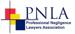 Professional Negligence Lawyers Association logo.