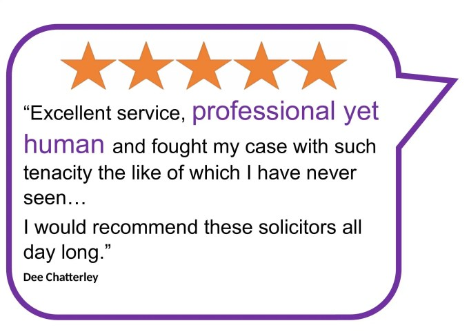Client review of Donoghue Solicitors, who help people claim compensation in police abuse of authority for sexual gain claims.