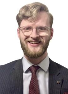 Photo of Thomas O'Sullivan, trainee legal executive at Donoghue Solicitors
