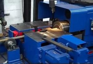 Photo of a welding machine.