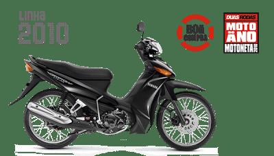 Moto Yamaha Crypton Visão Lateral