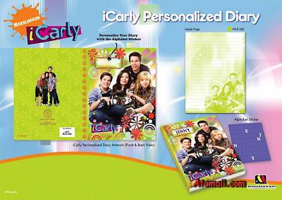 Agenda e Diário da iCarly