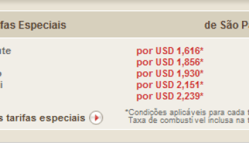 especiais 20de 20s C3 A3o 20paulo Vôos da Emirates com Saída de São Paulo, Preços de Passagem