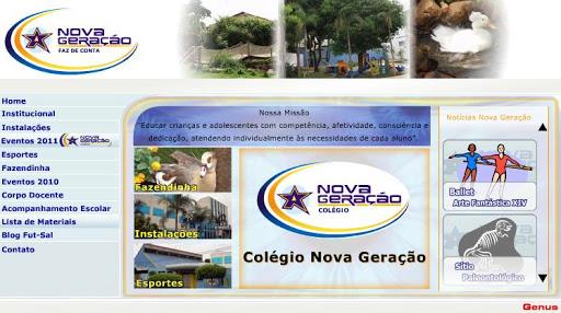 COLEGIO 252520NOVA 252520GERACAO Escolas Particulares em Campo Grande, Endereço e Telefone