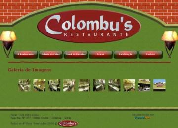 Restaurante Colombus em Goiânia, Endereço e Telefone
