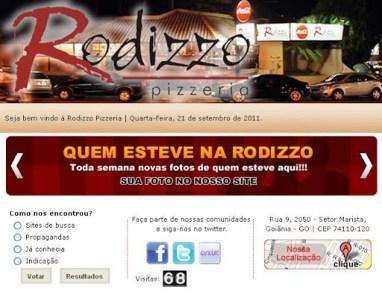 Pizzaria Rodizzo Pizzeria em Goiânia, Preços