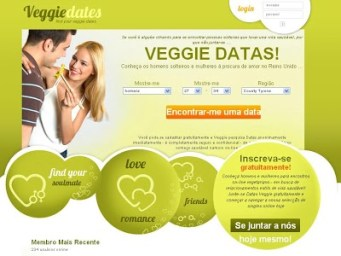 Conheça o Veggie Dates Site de Encontro de Vegetarianos