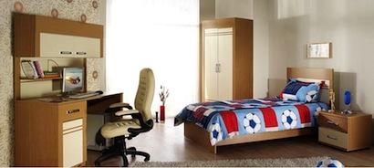 quarto jovem 1 Modelo de quarto planejado para adolescentes