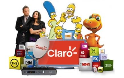 Claro TV Por Assinatura, Pacotes