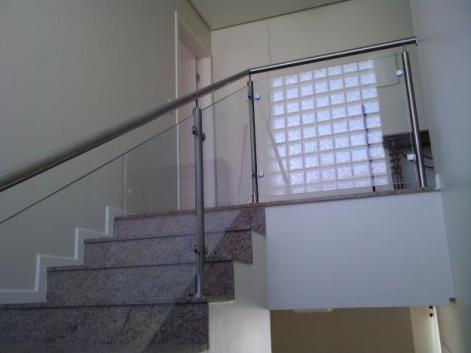 Corrimão de Vidro Blindex Para Escada 2 Corrimão de Vidro Blindex Para Escada