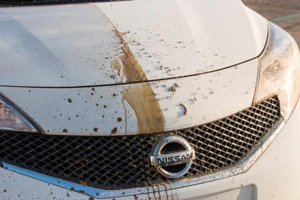 Carro Autolimpante da Nissan - Fotos