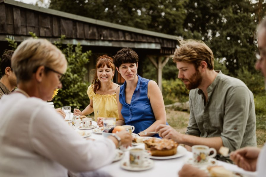 Sommer-Familienshooting an der Windmühle bei Hannover