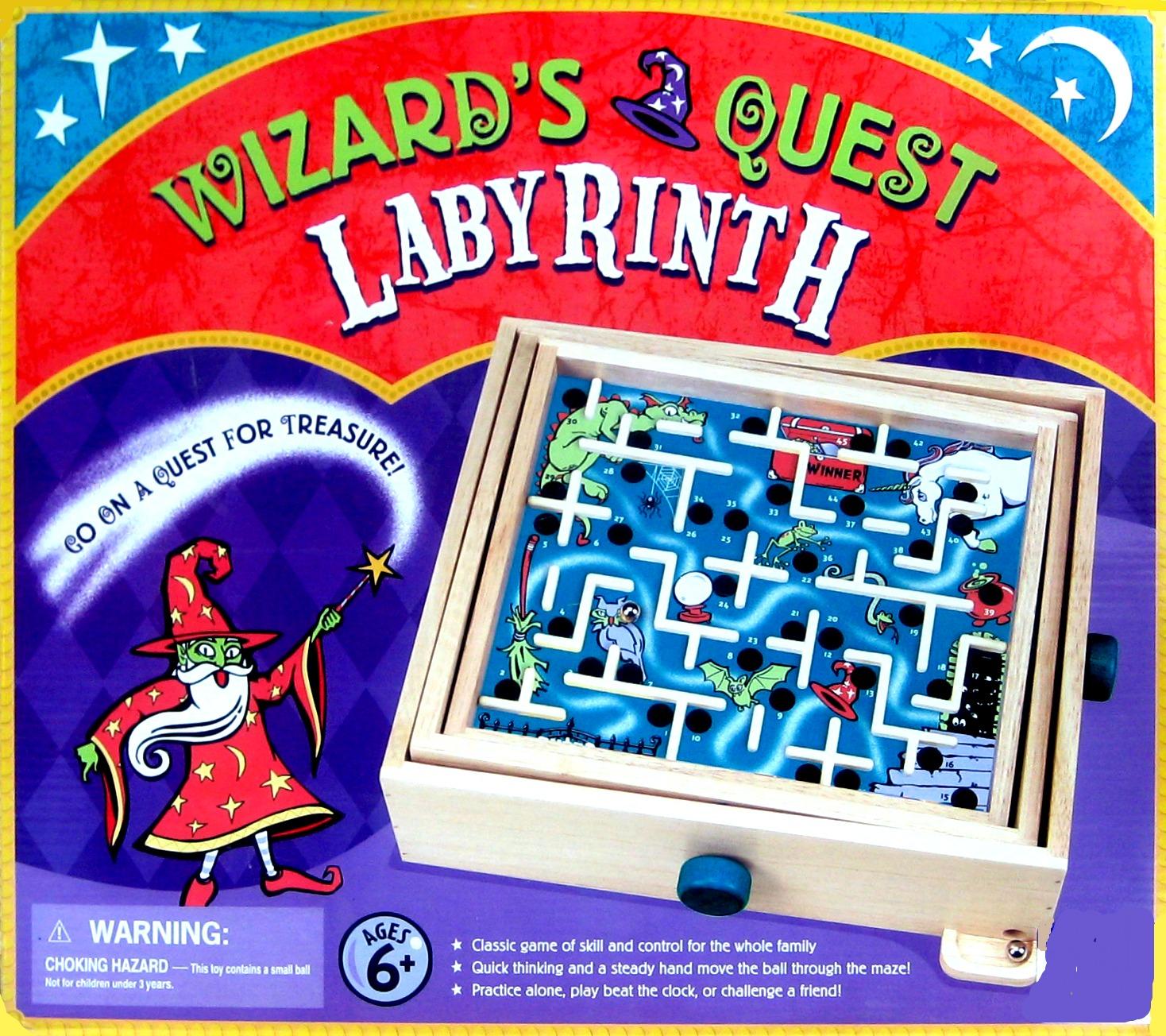 2000 Wizard S Quest Labyrinth Game Children S Development