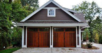 Wood Overlay Garage Doors in Denver, CO - Don's Garage Doors