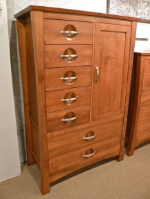 Providence Man's Chest Wood Species Shown: Brown Maple Fully Customizable. Please contact us for pricing details.