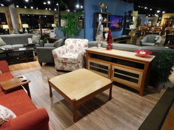Providence Living Room Pieces Shown: -Coffee Table -TV Stand Fully Customizable. Please contact us for pricing details.
