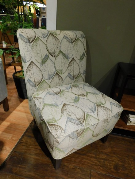 Francis Chair Shown in Gr. 18 #1808 Traveler Carolina Partially Customizable. Please contact us for pricing details.