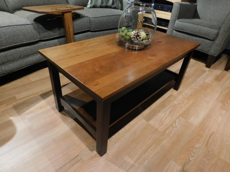 Buckeye Economy Coffee Table Wood Species Shown: Brown Maple Fully Customizable. Please contact us for pricing details.