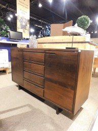 """Plymouth Sideboard Wood Species Shown: Brown Maple Dimensions: 60""""W x 19.75""""D x 35.25""""H Fully Customizable. Please contact us for pricing details."""