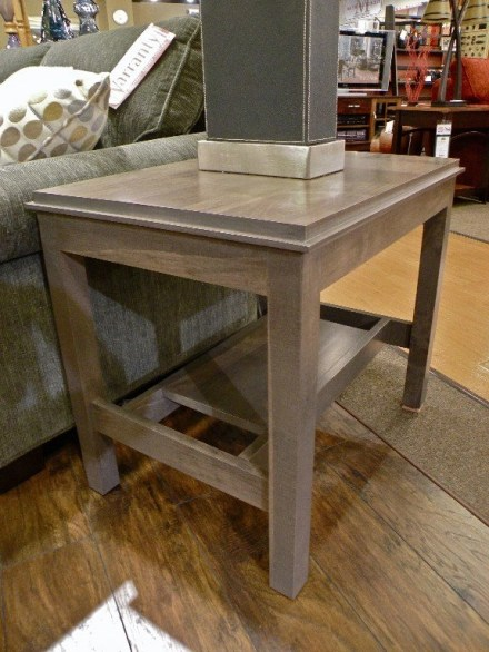 Metropolitan End Table Fully Customizable. Please contact us for pricing details.