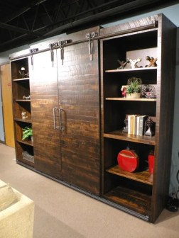 Dalton Wall Unit with Sliding Barn Doors Fully Customizable. Please contact us for pricing details.