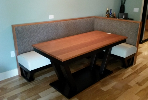Built-In Bench and Table