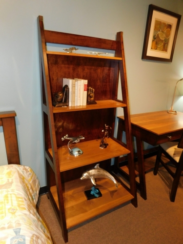 Timberline Leaning Bookcase