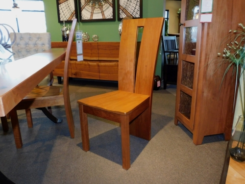 Delphi Side Chair with Wood Seat
