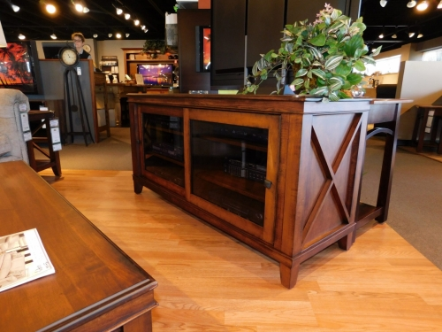 Newport Sliding Door TV Stand