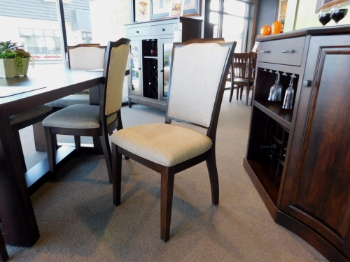 Palmer Side Chair with Upholstered Back and Seat
