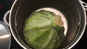 Cabbage in the pot